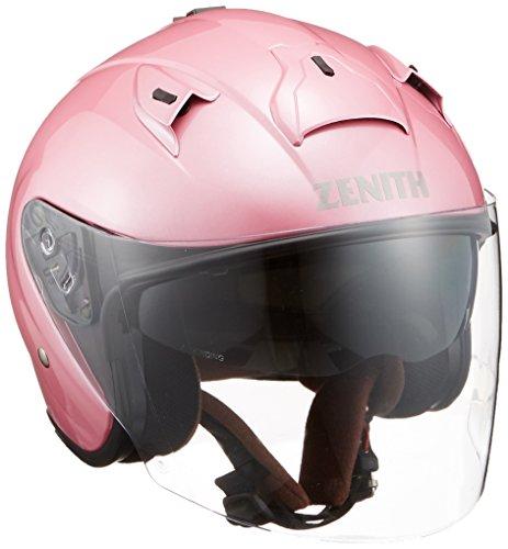 ヤマハ(YAMAHA) バイクヘルメット ジェット YJ-14 ZENITH 90791-2290L パールピンク L (頭囲 59cm~60cm)