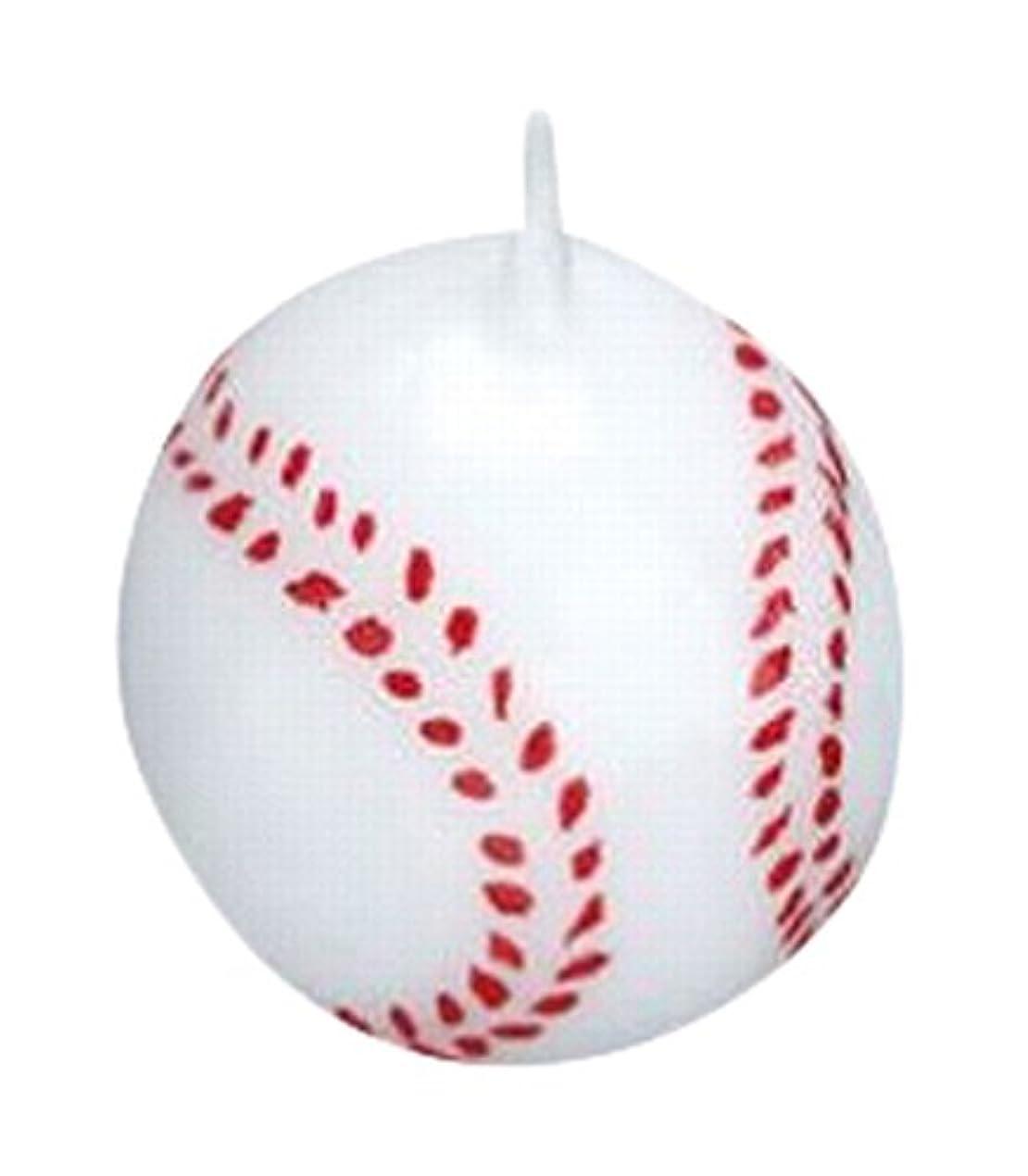 まどろみのある低下褒賞ベースボール3個入り キャンドル 10個セット 55220040