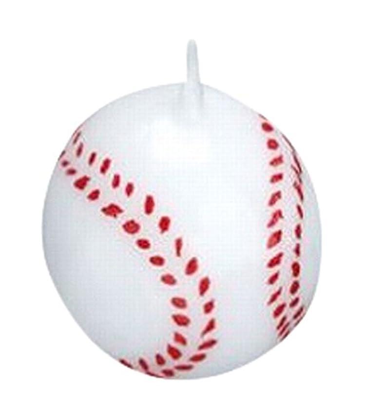聴覚障害者細断運営ベースボール3個入り キャンドル 10個セット 55220040