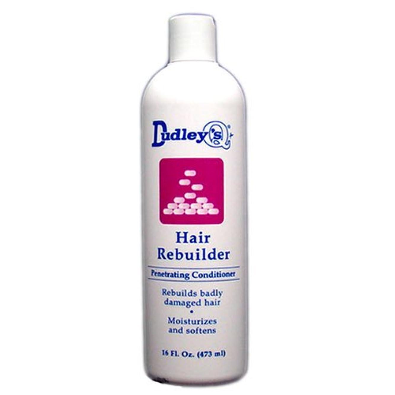 データチャット封建Dudley's 髪の再建浸透性コンディショナー、16オンス 16オンス