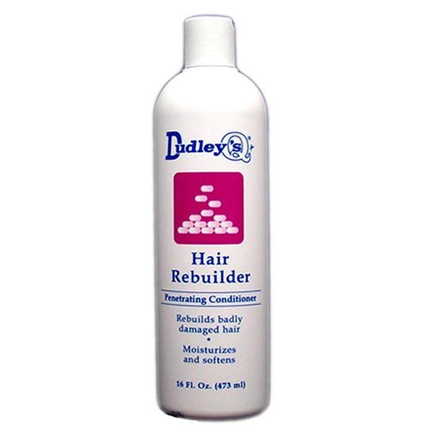 心配するつぶす剛性Dudley's 髪の再建浸透性コンディショナー、16オンス 16オンス