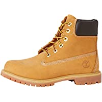 ERROR:#N/A Timberland Women's 6-Inch Premium Waterproof Boots, Womens Shoes, Yellow (Wheat Nubuck), 7 US