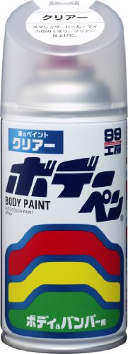 SOFT99 ( ソフト99 ) ペイント ボデーペン クリアー 08002