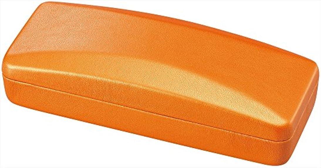 パール メガネケース ハード タイプ オレンジ SO-36OR