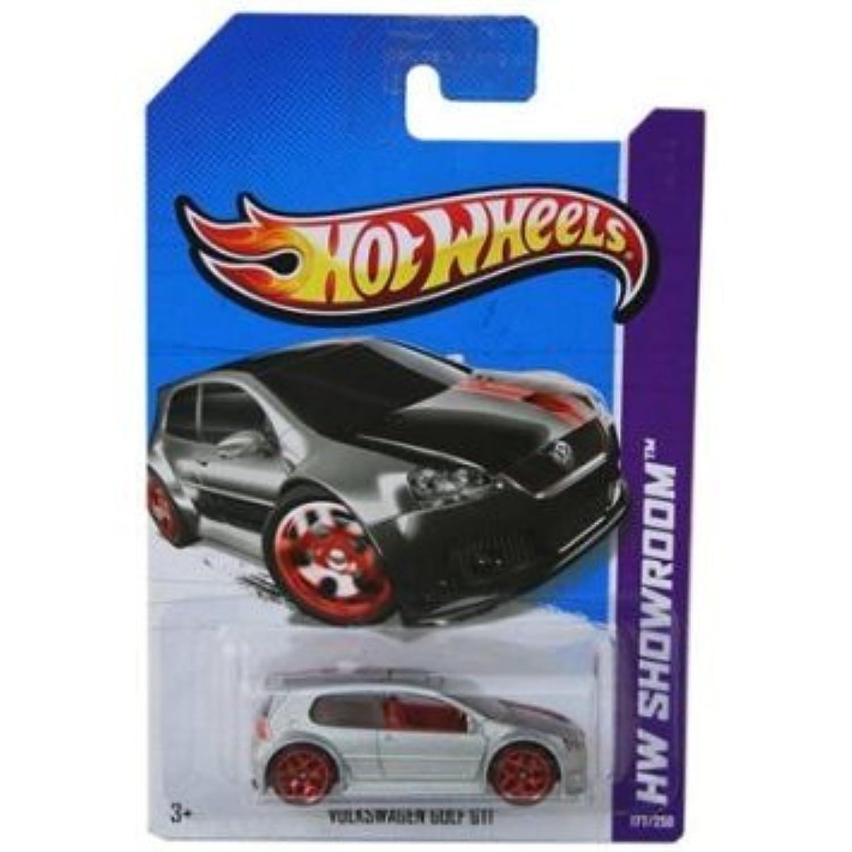Hot Wheels (ホットウィール) 2013, Volkswagen (フォルクスワーゲン) Golf GTI, HW SHOWROOM, 177/250. 1:64 スケール. ミニカー ダイキャスト 車 自動車 ミニチュア 模型 (並行輸入)
