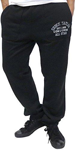 (コンバース) CONVERSE スウェットパンツ メンズ ズボン おしゃれ トレーニング 裏ボア 4color L ブラック