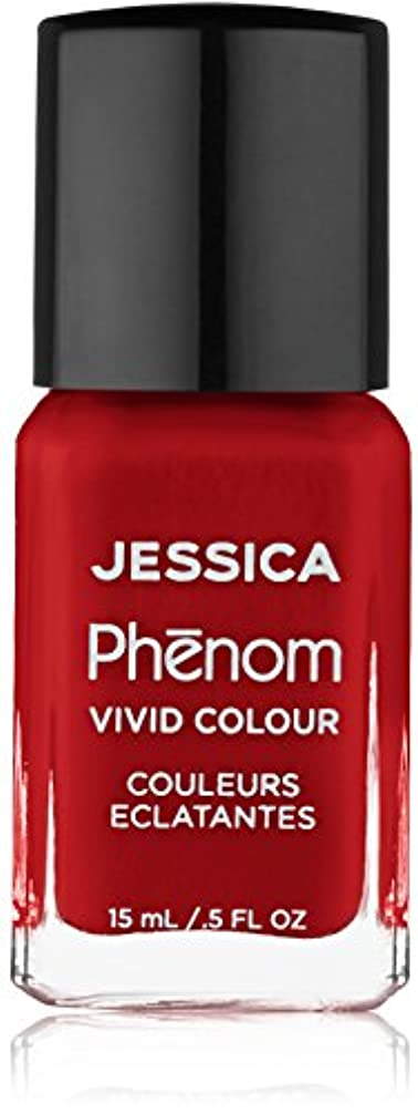 方程式伝染性の旅Jessica Phenom Nail Lacquer - Jessica Red - 15ml/0.5oz