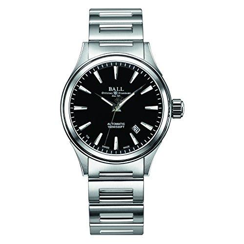 [ボールウォッチ]BALL Watch 腕時計 ヴィクトリー ブラック文字盤 ステンレススチール 100m防水 NM2098C-S3J-BK メンズ 【並行輸入品】