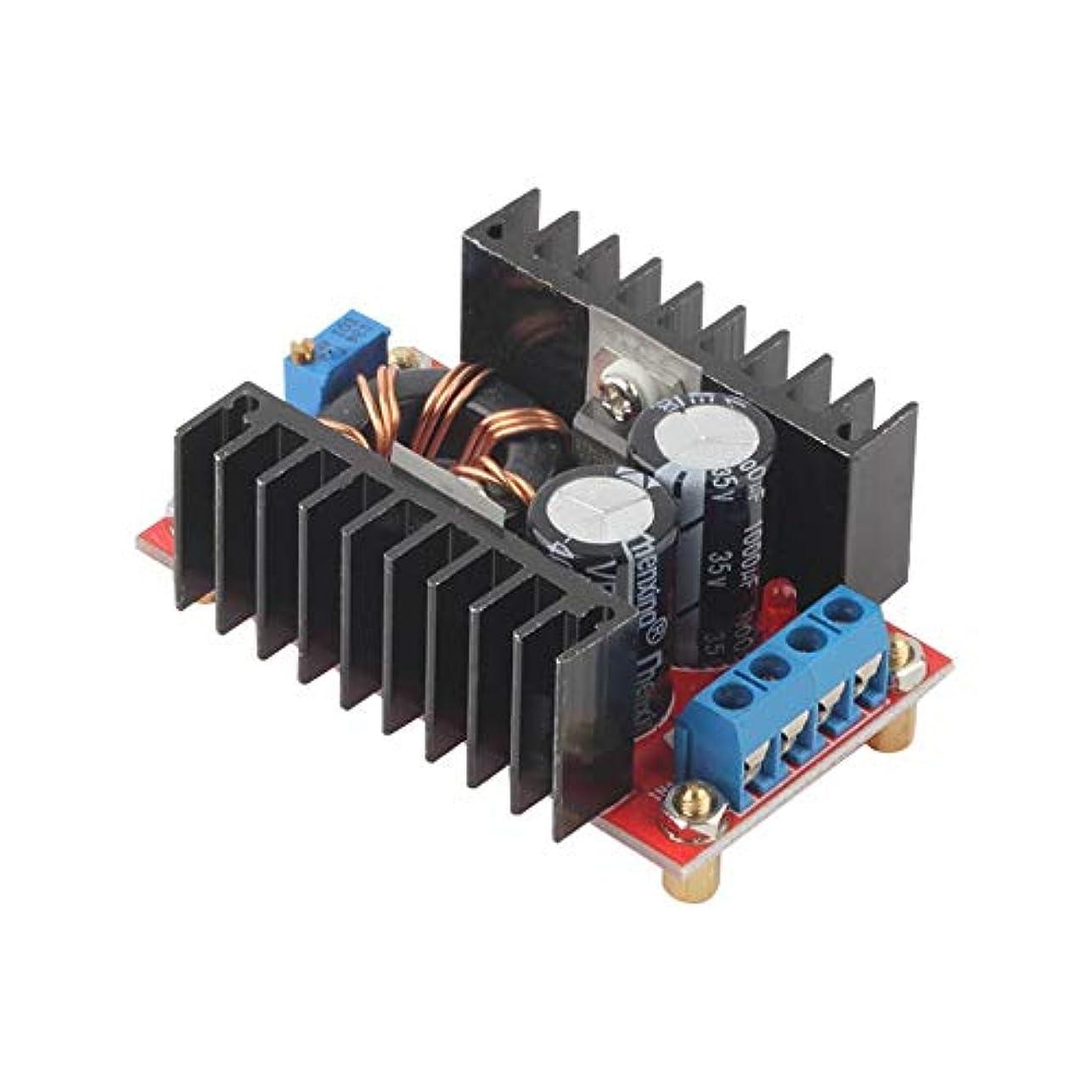 冷凍庫表面いとこプロフェッショナル150W DC-DCブーストコンバータ10-32V to 12-35Vステップアップ充電器電源モジュールステップアップ電圧充電器モジュール - 多色