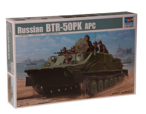 1/35 旧共産圏戦闘車両シリーズ ソビエト軍 BTR-50PK 水陸両用兵員輸送車