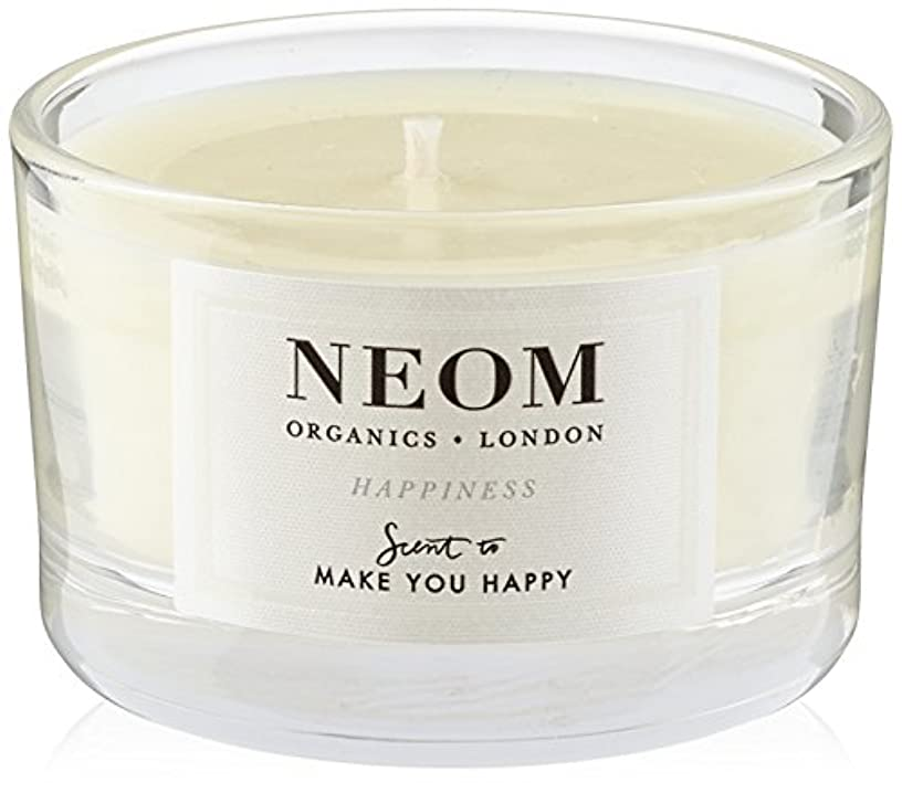 NEOM トラベルキャンドル (75g) HAPPINESS(MAKE YOU HAPPY)