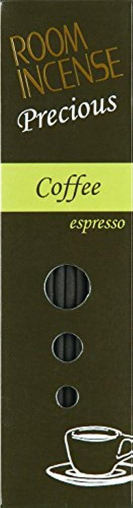 非常に怒っています早熟マークダウン玉初堂のお香 ルームインセンス プレシャス Coffee espresso スティック型 #5516