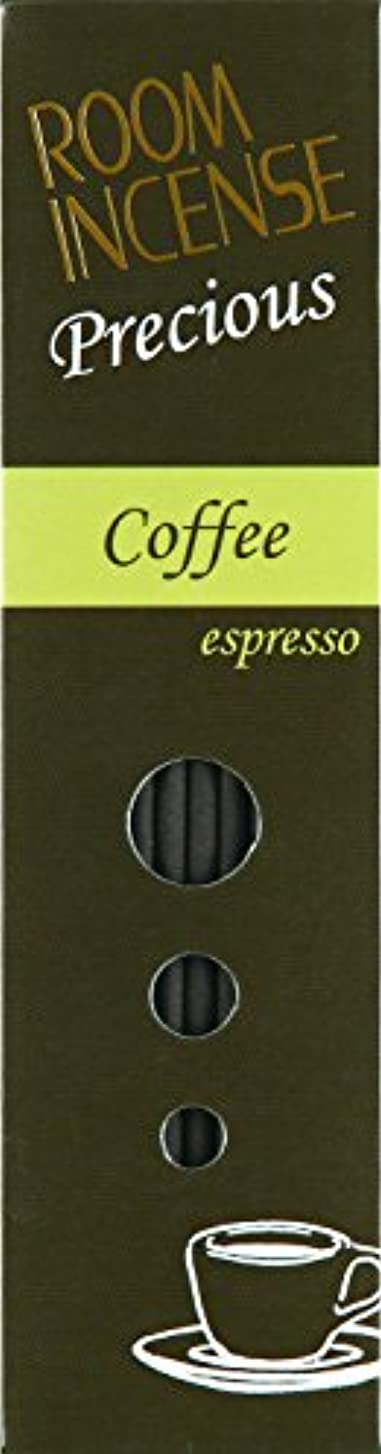 樹皮作詞家教育者玉初堂のお香 ルームインセンス プレシャス Coffee espresso スティック型 #5516