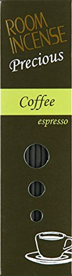柔らかい伝統オデュッセウス玉初堂のお香 ルームインセンス プレシャス Coffee espresso スティック型 #5516
