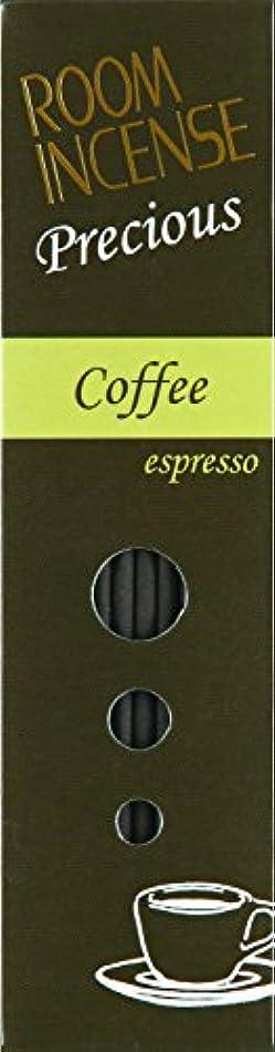 老人しばしば繊毛玉初堂のお香 ルームインセンス プレシャス Coffee espresso スティック型 #5516