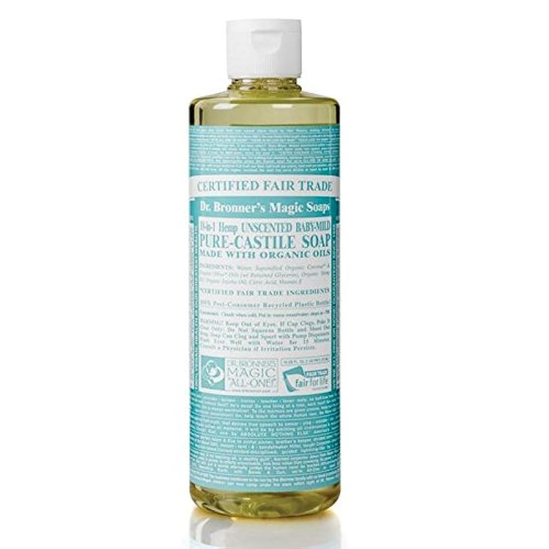 演じる定刻代替案Dr Bronner Organic Baby Mild Castile Liquid Soap 473ml (Pack of 6) - のブロナーオーガニックベビーマイルドなカスティーリャ液体石鹸473ミリリットル x6...