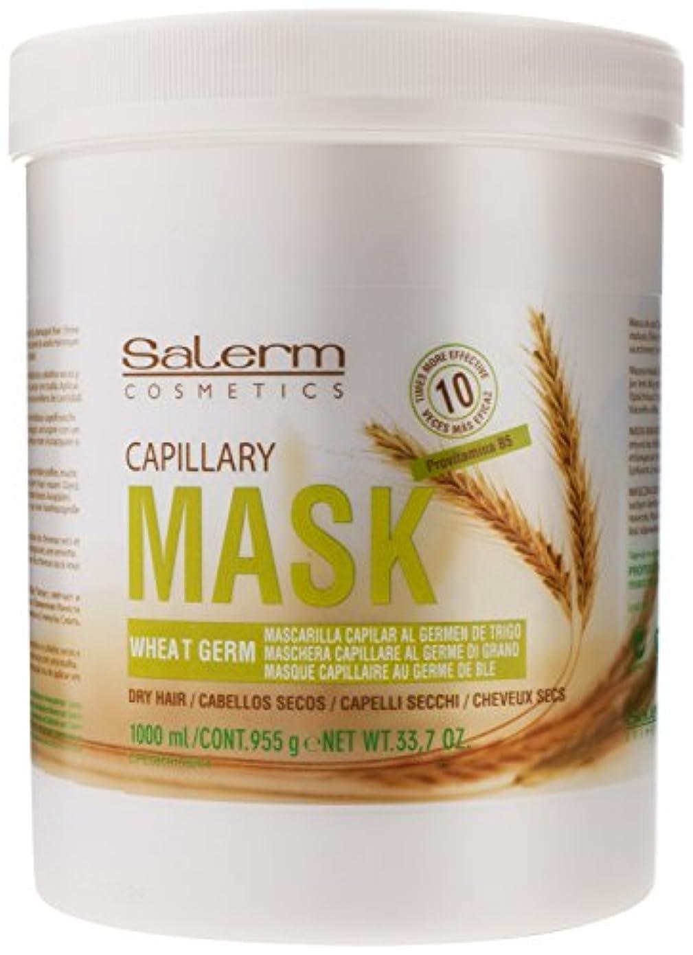 クレーンバター賞賛するSalerm 小麦胚芽Mascarilla Capilarコンディショニングトリートメント、33.7オンス