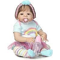 SanyDoll Rebornベビー人形ソフトSilicone 22インチ55 cm磁気Lovely Lifelike Cute Lovely Baby b0763l7 X l9