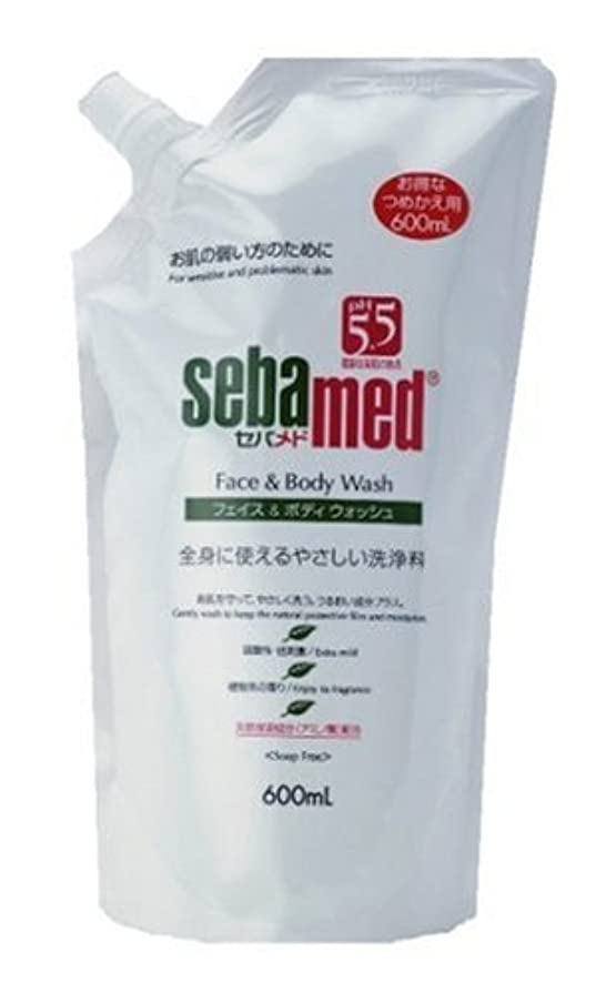 祝うマーベル化粧ロート製薬 セバメド フェイス&ボディウォッシュ 詰替用 600mL