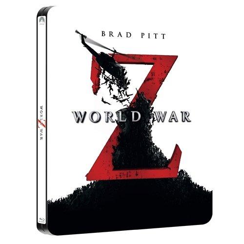 World War Z Blu ray Steelbook - Entertainment Exclusive [UK Import]