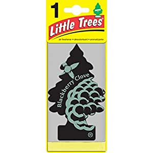 Little Trees  Blackberry Clove 吊り下げタイプ air freshener 3-paks(3枚入り)
