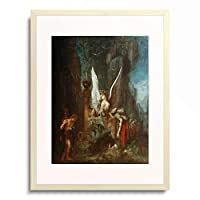 ギュスターヴ・モロー Gustave Moreau 「Oedipe voyageur ou L'egalite devant la mort」 額装アート作品