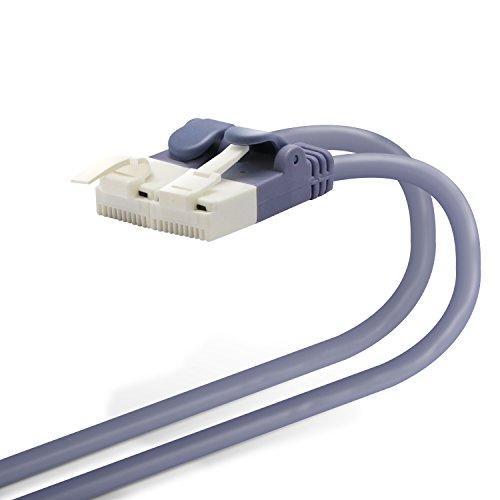 ツメ折れ防止やわらかLANケーブル やわらかタイプ CAT6 ブルー 10m RoHS指令準拠 LD-GPYT BU100 1本 [7057]