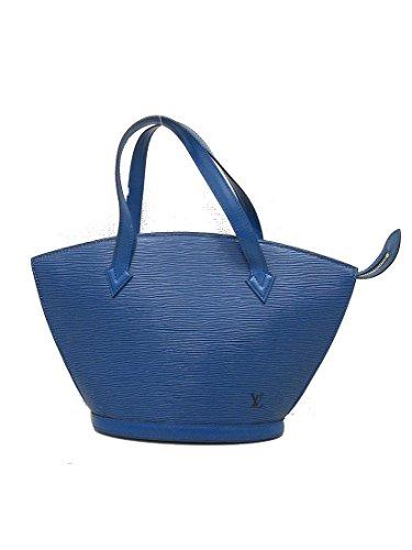 LOUIS VUITTON(ルイヴィトン) エピ サンジャック ショルダー トートバッグ M52335 青 ブルー 【ブランドバッグ】 【中古】