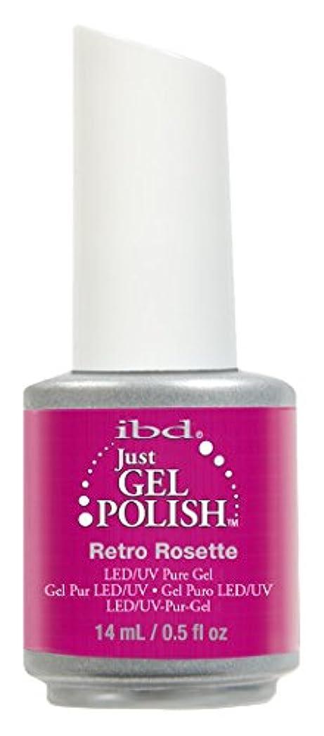 センブランス曲残基IBD Just Gel Polish - Retro Rosette - 0.5oz / 14ml