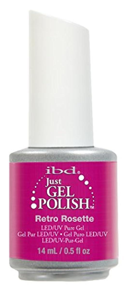大砲油描写IBD Just Gel Polish - Retro Rosette - 0.5oz / 14ml