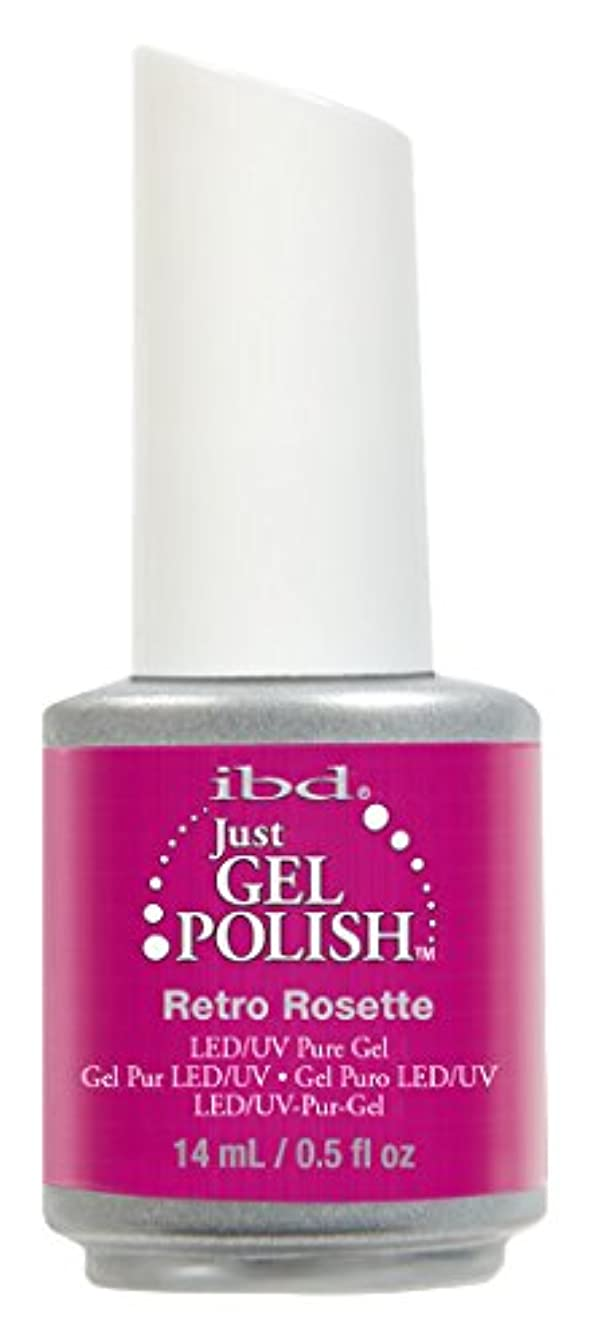 誇張パラナ川はねかけるIBD Just Gel Polish - Retro Rosette - 0.5oz / 14ml