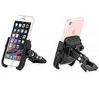 【Selling-phone】自転車用スマホホルダー ユニバーサルバイクオートバイアルミ電話ハンドルバーマウントホルダースマートフォン用