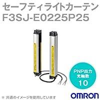 オムロン(OMRON) F3SJ-E0225P25 F3SJ-Eシリーズ セーフティライトカーテン (光軸数 10) (PNP出力) NN