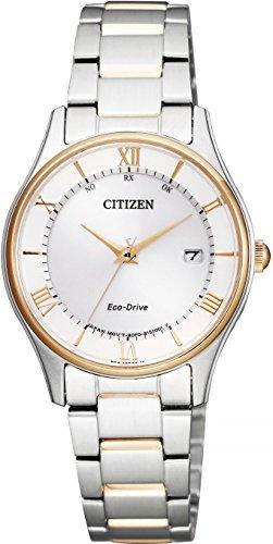 [シチズン]腕時計 CITIZEN COLLECTION シチズンコレクション エコ・ドライブ電波時計 薄型シリーズ ペアモデル ES0002-57A レディース