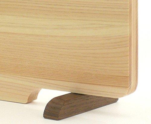 ダイワ産業『食器洗い乾燥機対応ひのきまな板36cmスタンド付』