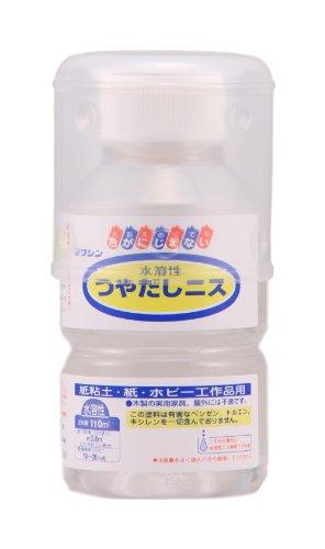 ワシン 水溶性つや出しニス 110ml