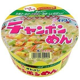 イトメン カップチャンポンめん 1箱:12食入り