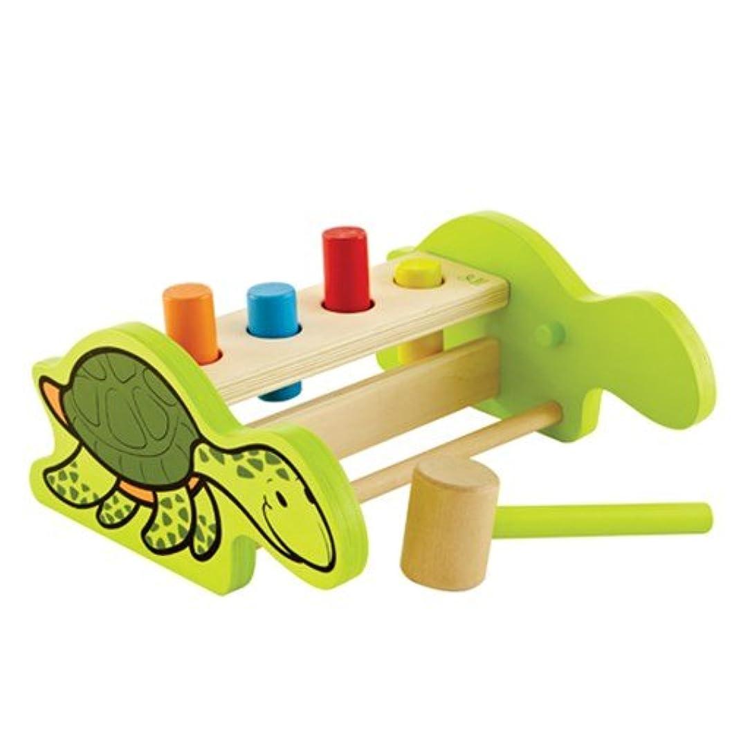 噛む毎年アドバイス[Hape Echo] pick whip pick whip turtle hammer