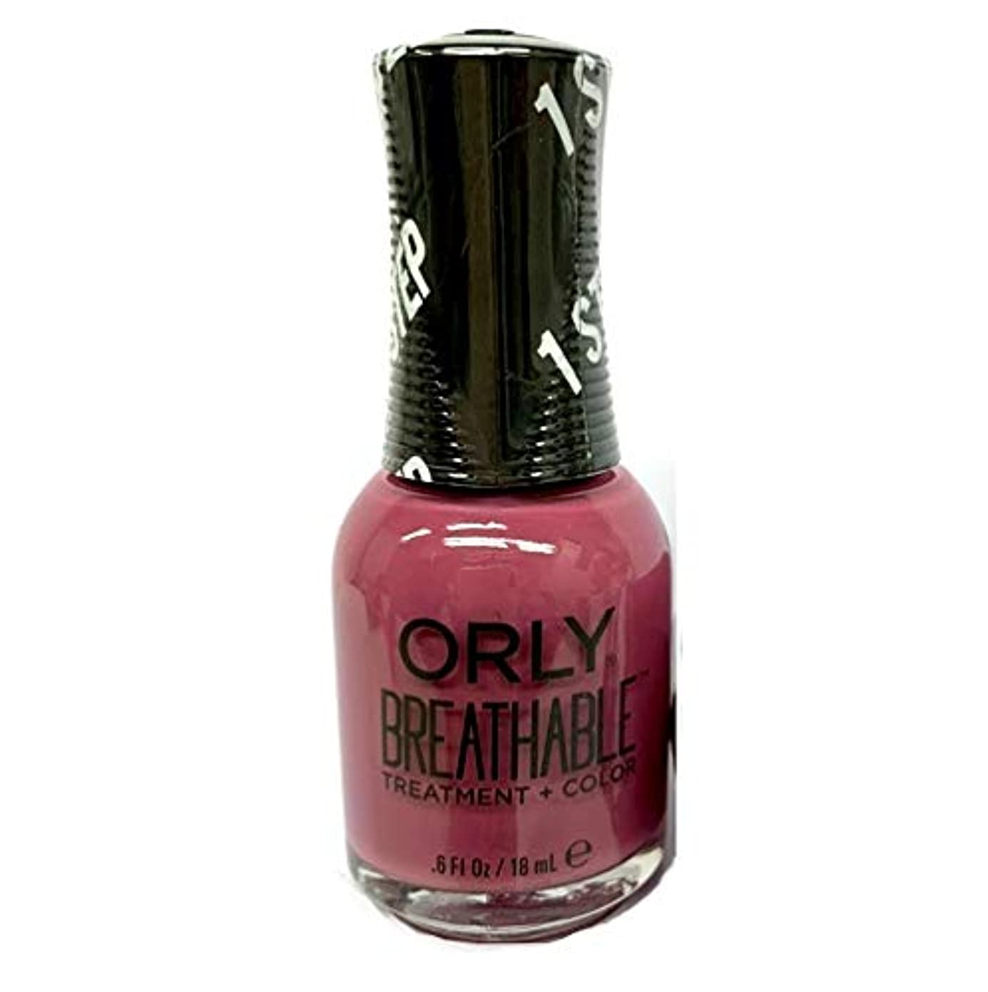同一性病的スクレーパーORLY Breathable Lacquer - Treatment+Color - Cosmic Shift 2019 Collection - Supernova Girl - 18mL / 0.6oz
