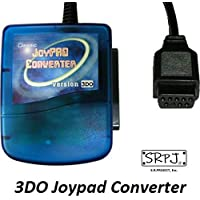 [SRPJ] 3DOでPS/PS2コントローラーを使用可能にするコンバーター PSX to 3DO Joypad Converter [9687]