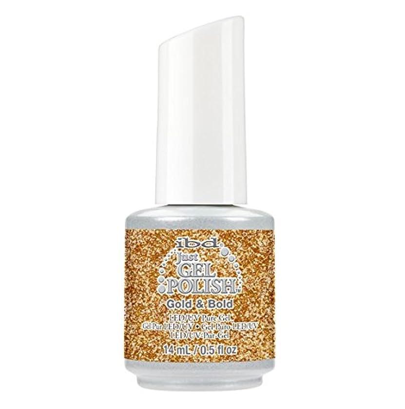 値勝利キーibd Just Gel Polish - Diamonds+Dreams Collection - Gold & Bold - 14 mL / 0.5 oz