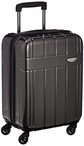 [エバウィン] 軽量スーツケース 【Amazon.co.jp限定】機内持込可 容量35L 縦サイズ54cm 重量2.8kg EW31233 BKC ブラックカーボン ブラックカーボン