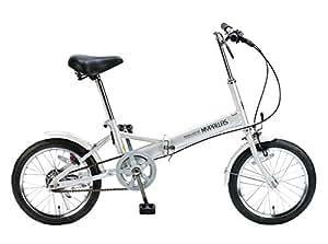 My Pallas(マイパラス) 折りたたみ自転車 M-101-S 16インチ シルバー