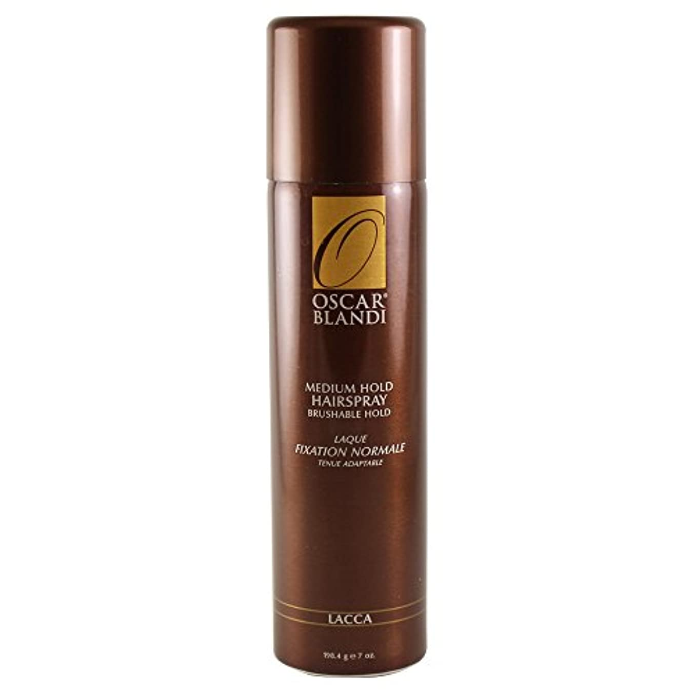 従事した現在判決Oscar Blandi Lacca Medium Hold Hairspray - 7 Oz. (並行輸入品)