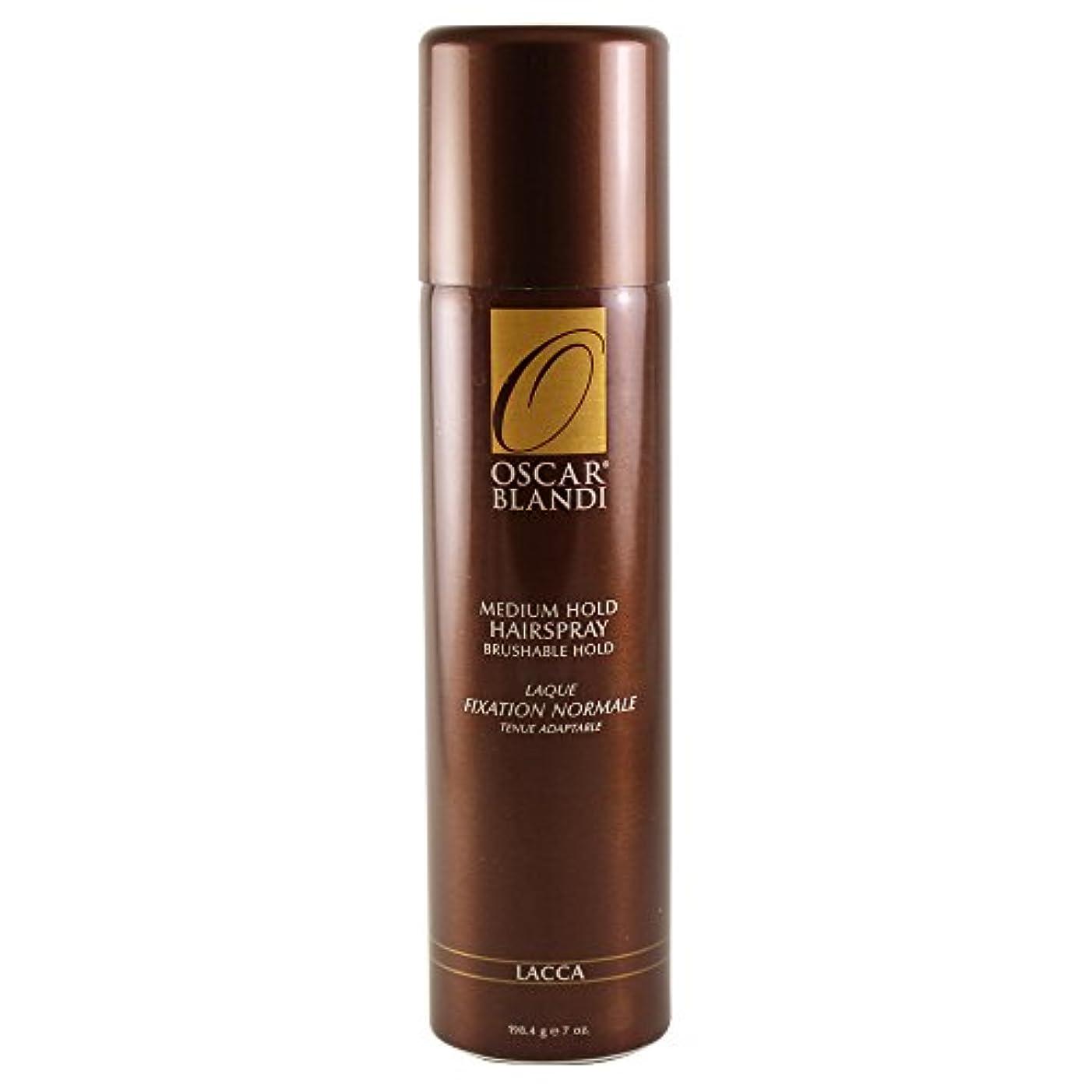 ローラー毛皮炎上Oscar Blandi Lacca Medium Hold Hairspray - 7 Oz. (並行輸入品)