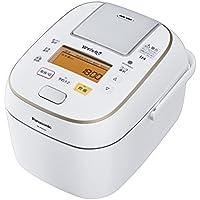 パナソニック 5.5合 炊飯器 圧力IH式 Wおどり炊き ホワイト SR-PW107-W
