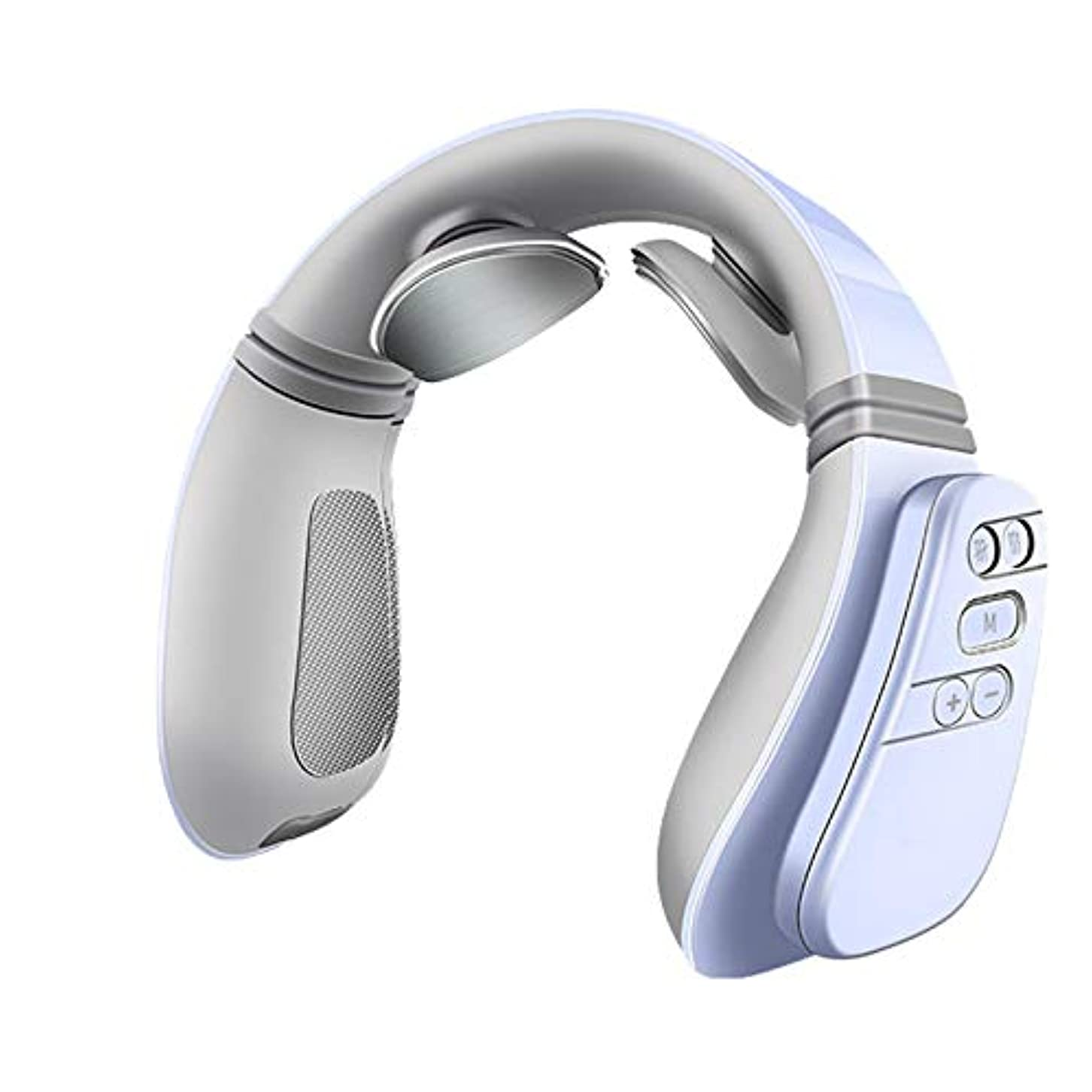 使用法東部お願いしますヒートディープティッシュネックマッサージャー電動指圧ネックマッサージは、オフィス、ホーム、カー用の筋肉痛を和らげます