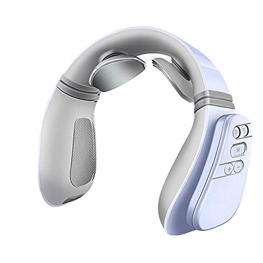 失速知恵プロットヒートディープティッシュネックマッサージャー電動指圧ネックマッサージは、オフィス、ホーム、カー用の筋肉痛を和らげます