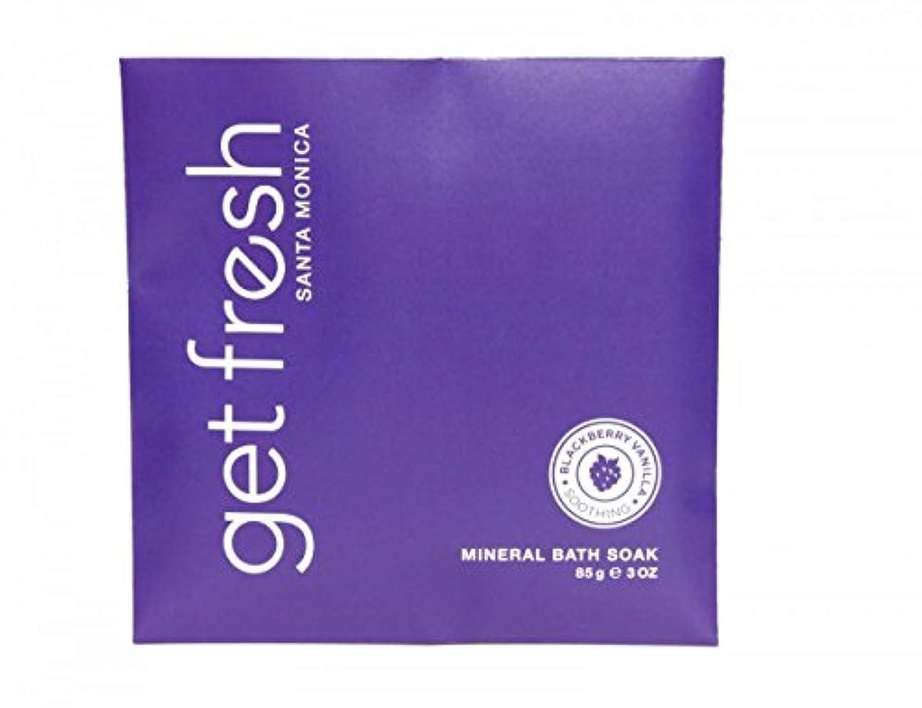 メロドラマティック完全に建物Get Fresh - Blackberry Vanilla Mineral Bath Soak
