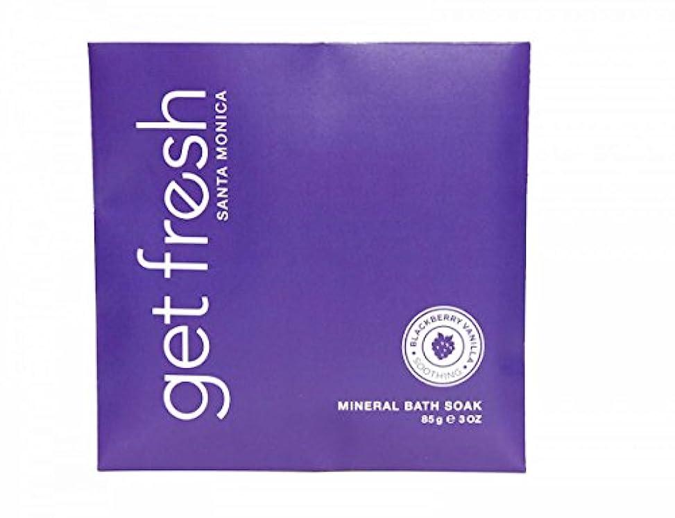 かけるどっち知らせるGet Fresh - Blackberry Vanilla Mineral Bath Soak